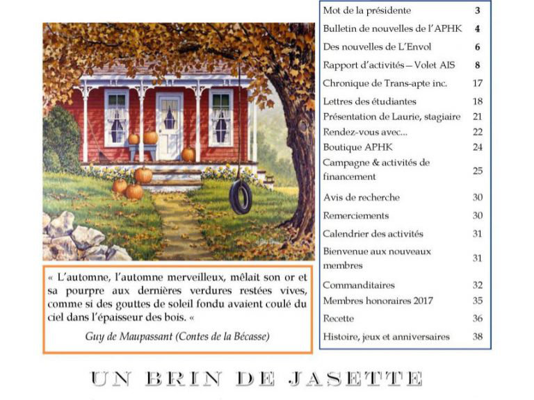 Journal Septembre 2017